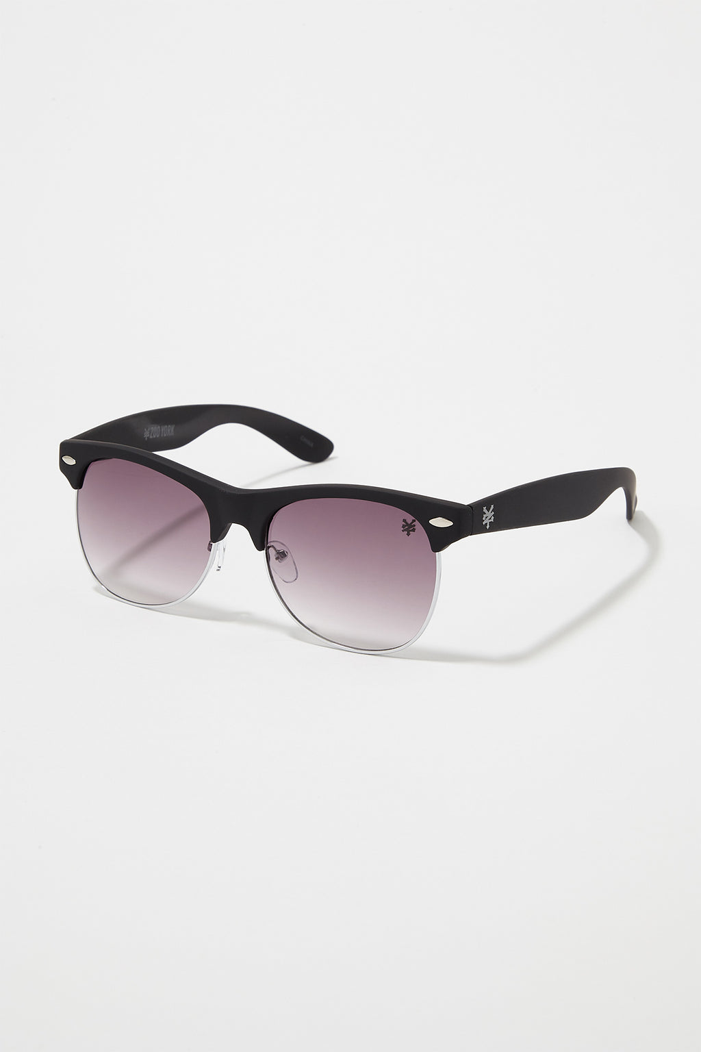 Zoo York Mens Half Rim Sunglasses
