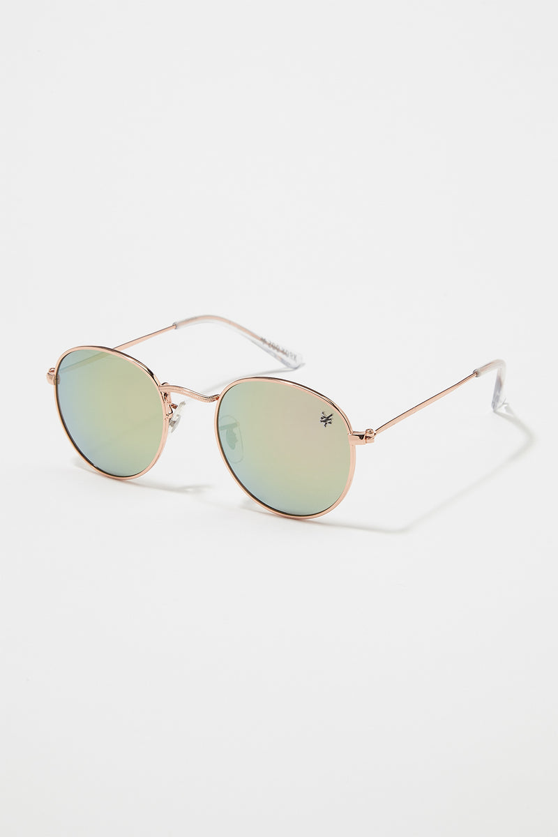 Zoo York Mens Revo Round Sunglasses