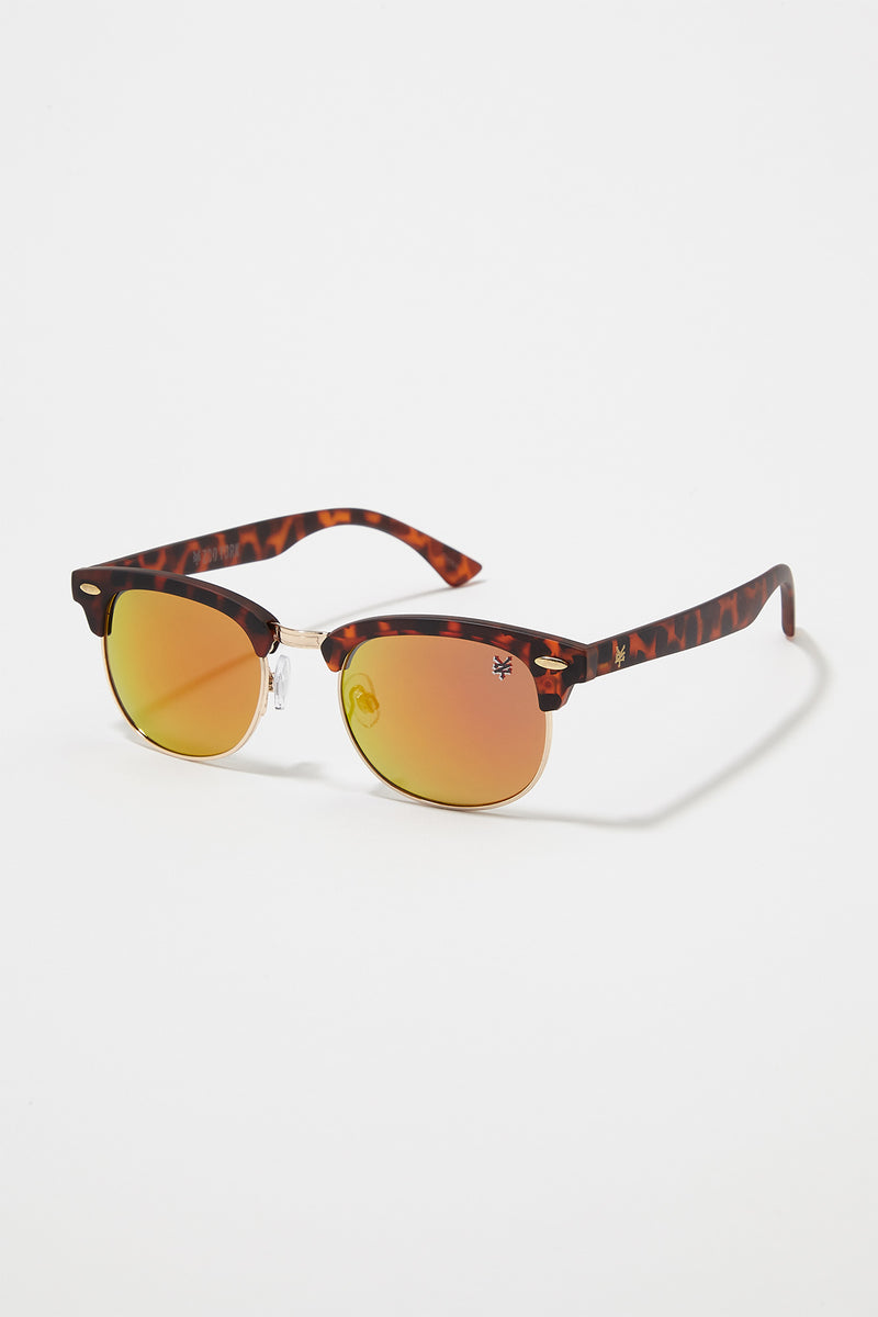 Zoo York Mens Revo Half Rim Sunglasses