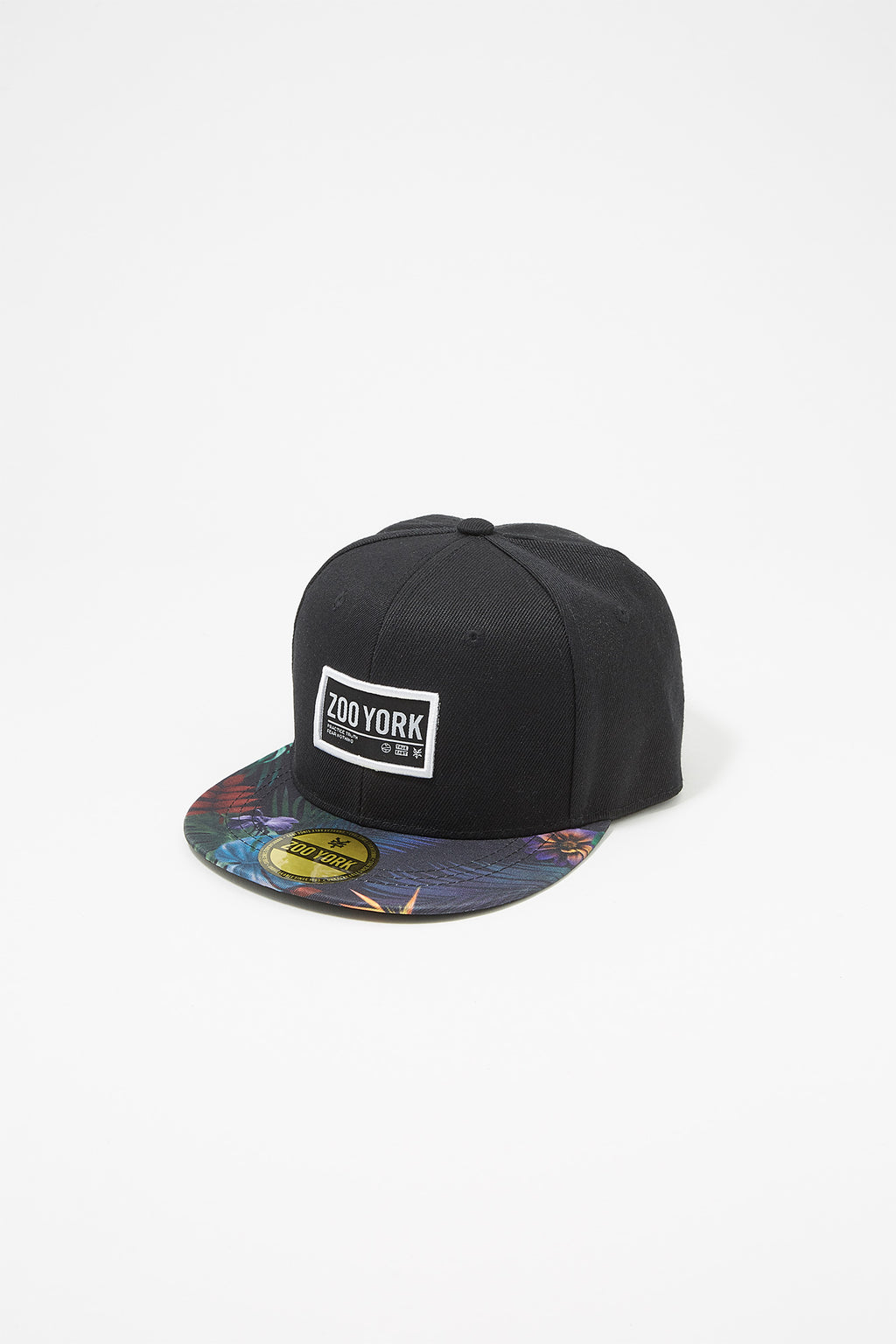 Zoo York Boys Floral Flat Brim Hat