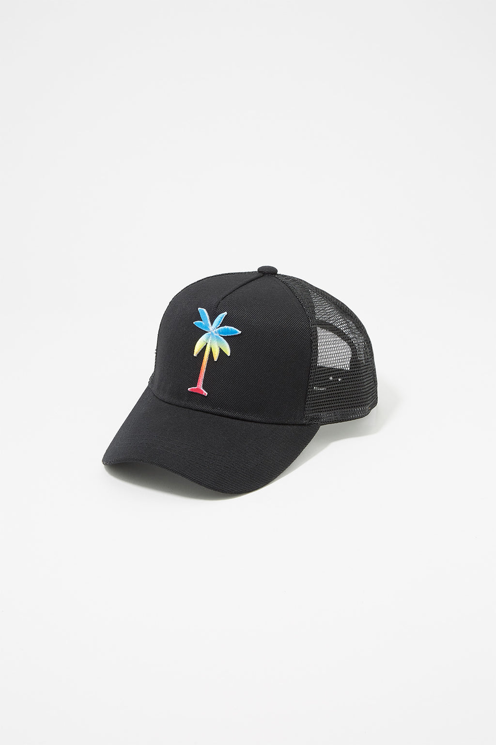 3e7b8798664 Zoo York Mens Palm Tree Trucker Hat