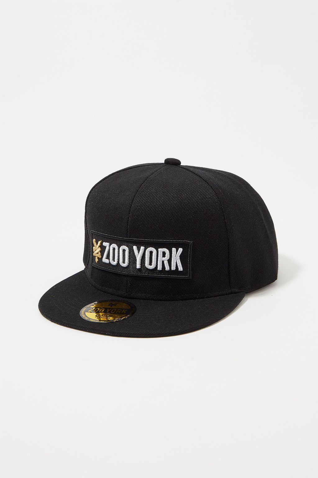 14979405065 Zoo York Mens Box Logo Flat Brim Hat