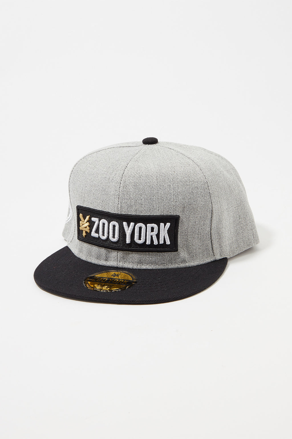 Zoo York Boys Box Logo Flat Brim Hat