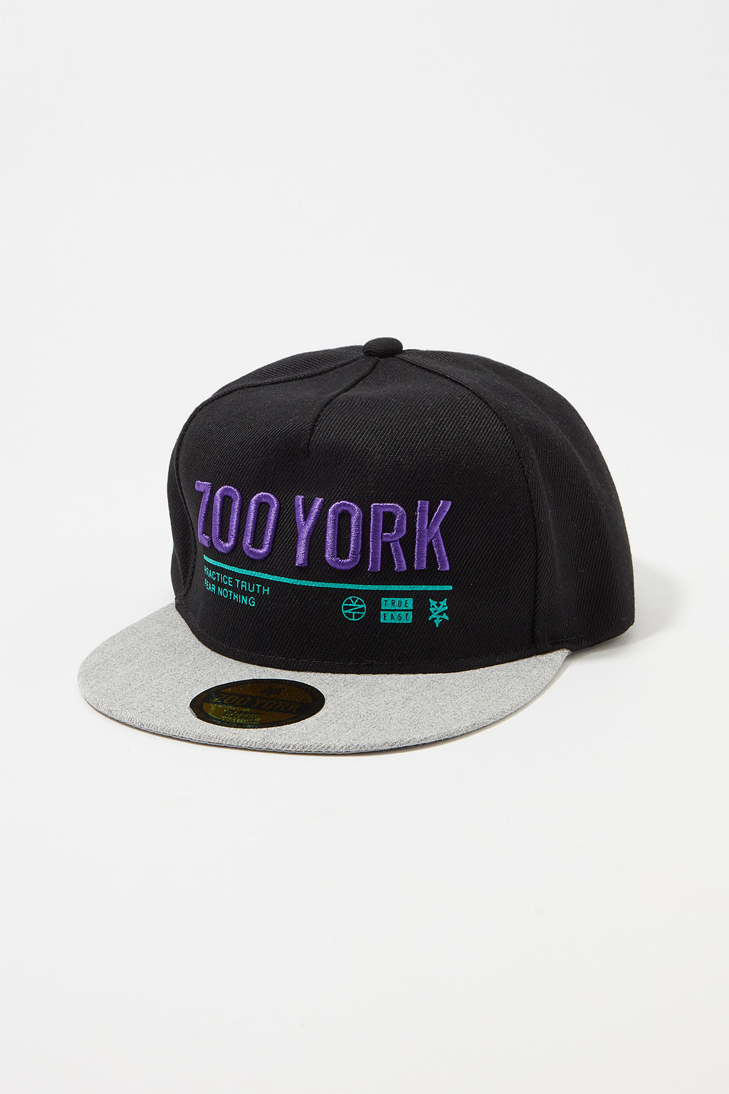 Zoo York Boys 2-Tone Logo Snapback Hat