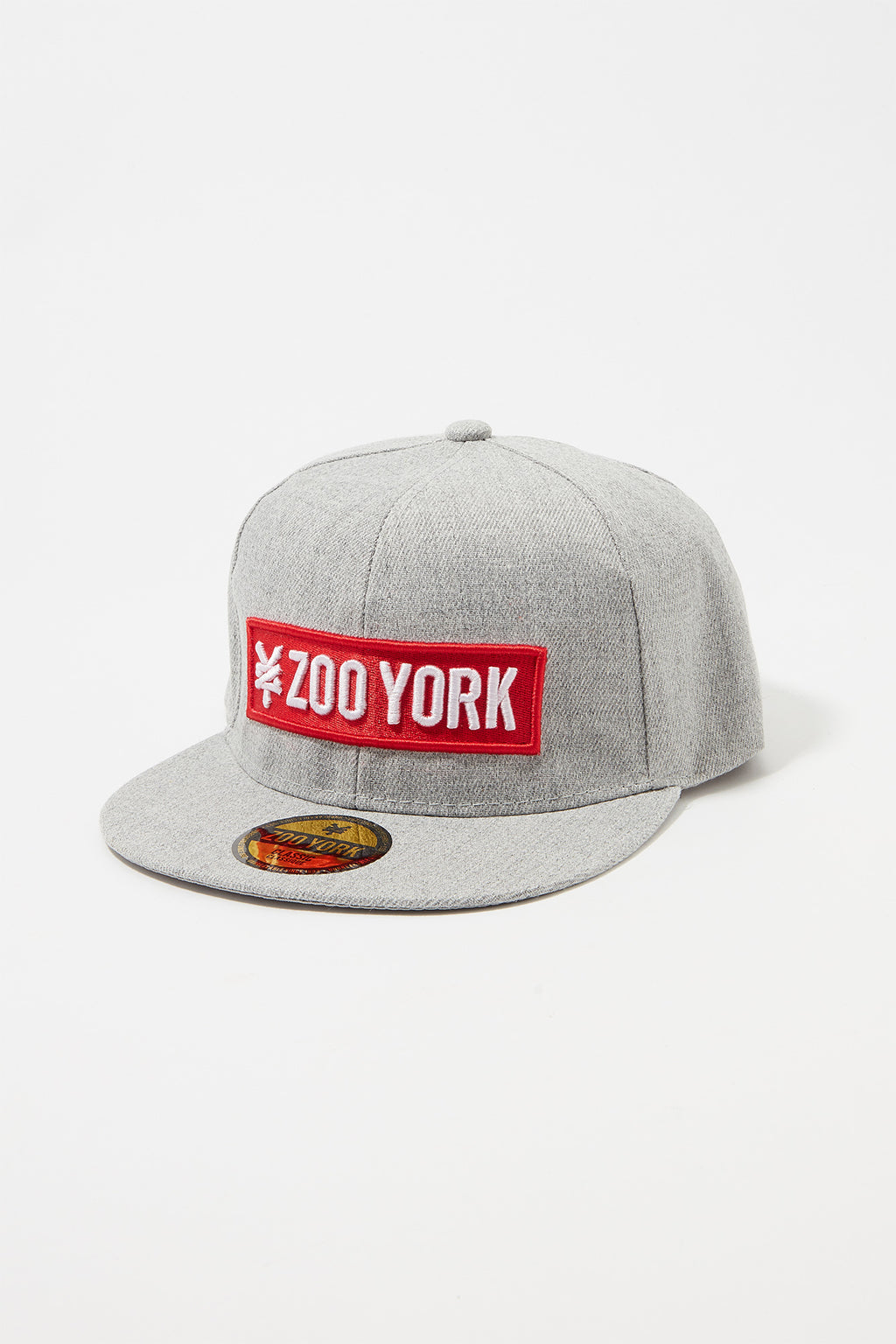 217e9854627 Zoo York Mens Red Box Logo Hat