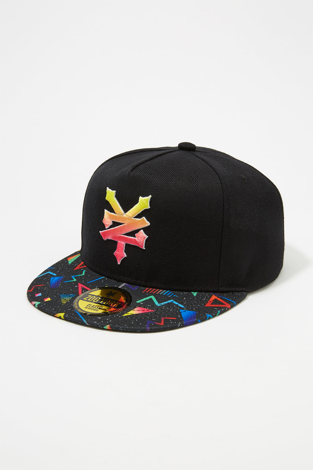 Zoo York Boys 90's Flat Brim Hat