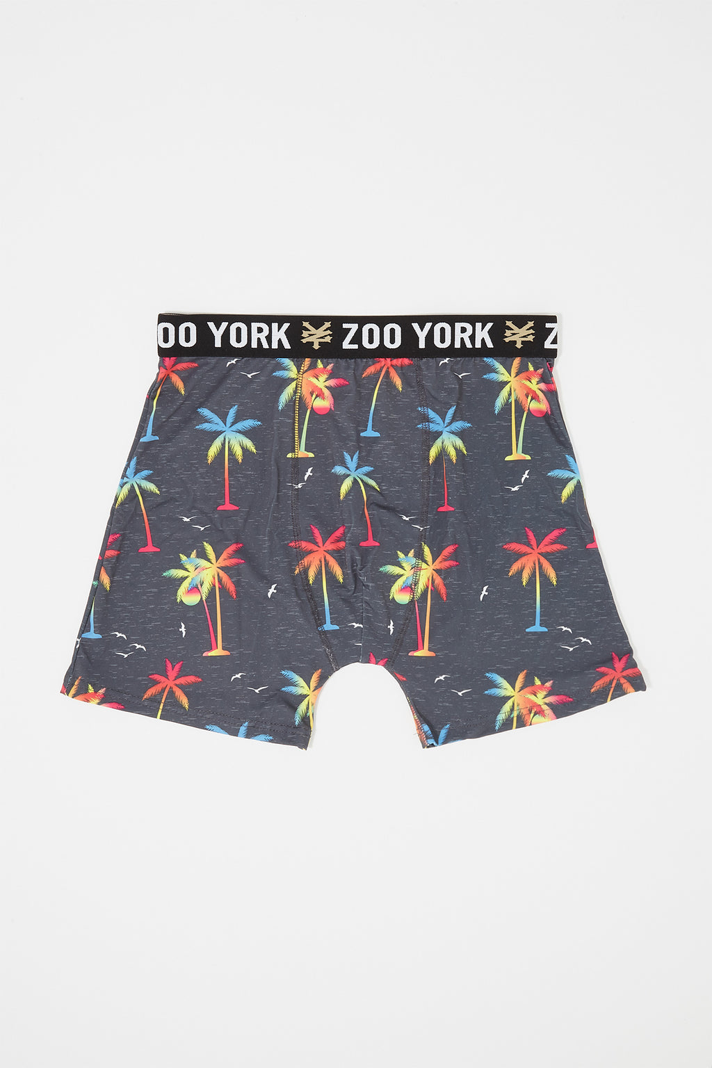 Zoo York Mens Palm Tree Boxer Brief