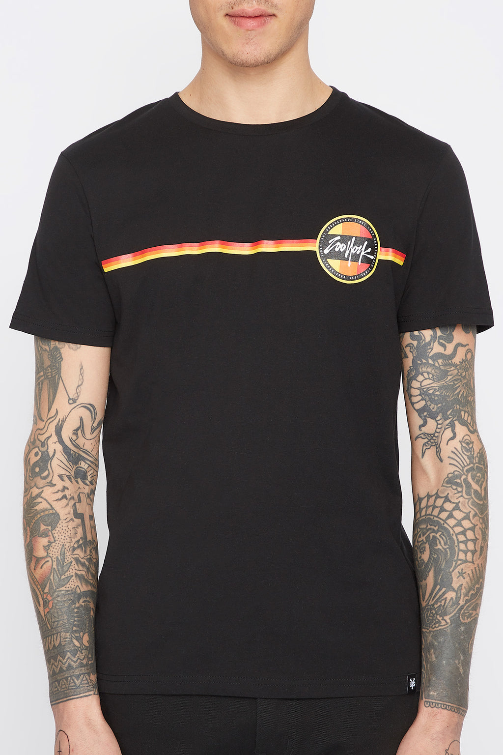 Zoo York Mens Circle Logo T-Shirt