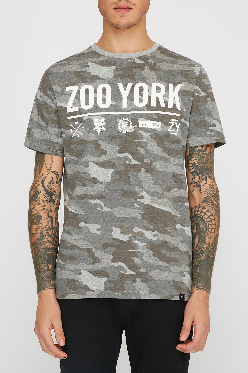 Zoo York Mens Camo T-Shirt