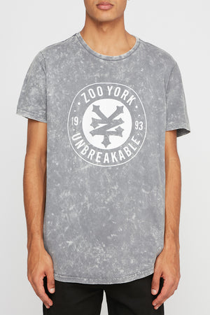Zoo York Mens Acid Wash T-Shirt