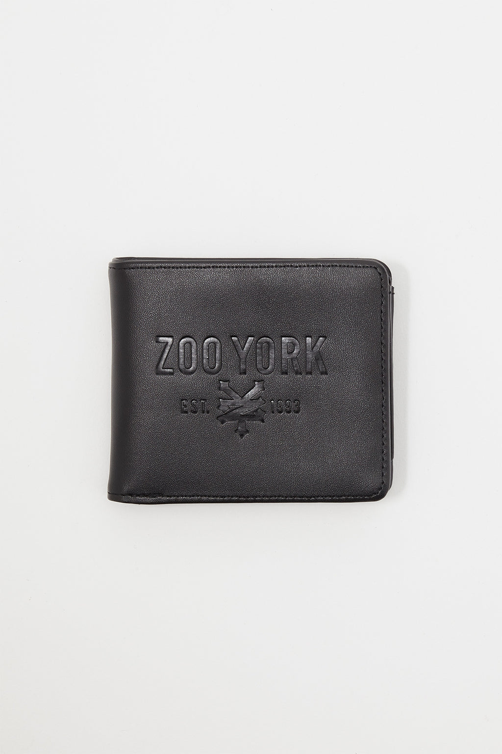 Zoo York Faux Leather Bifold Wallet