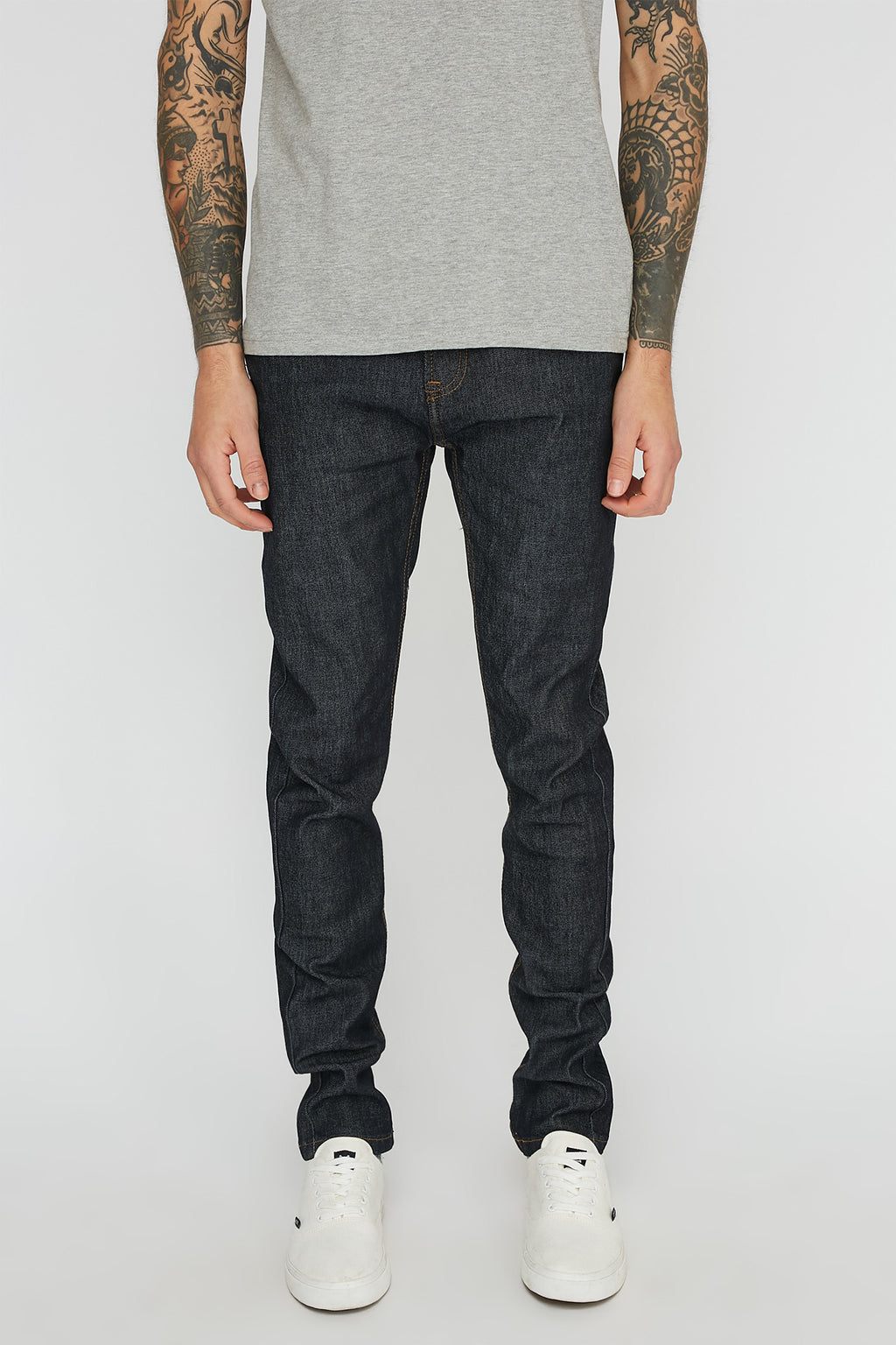 Zoo York Mens Skinny Dark Jeans