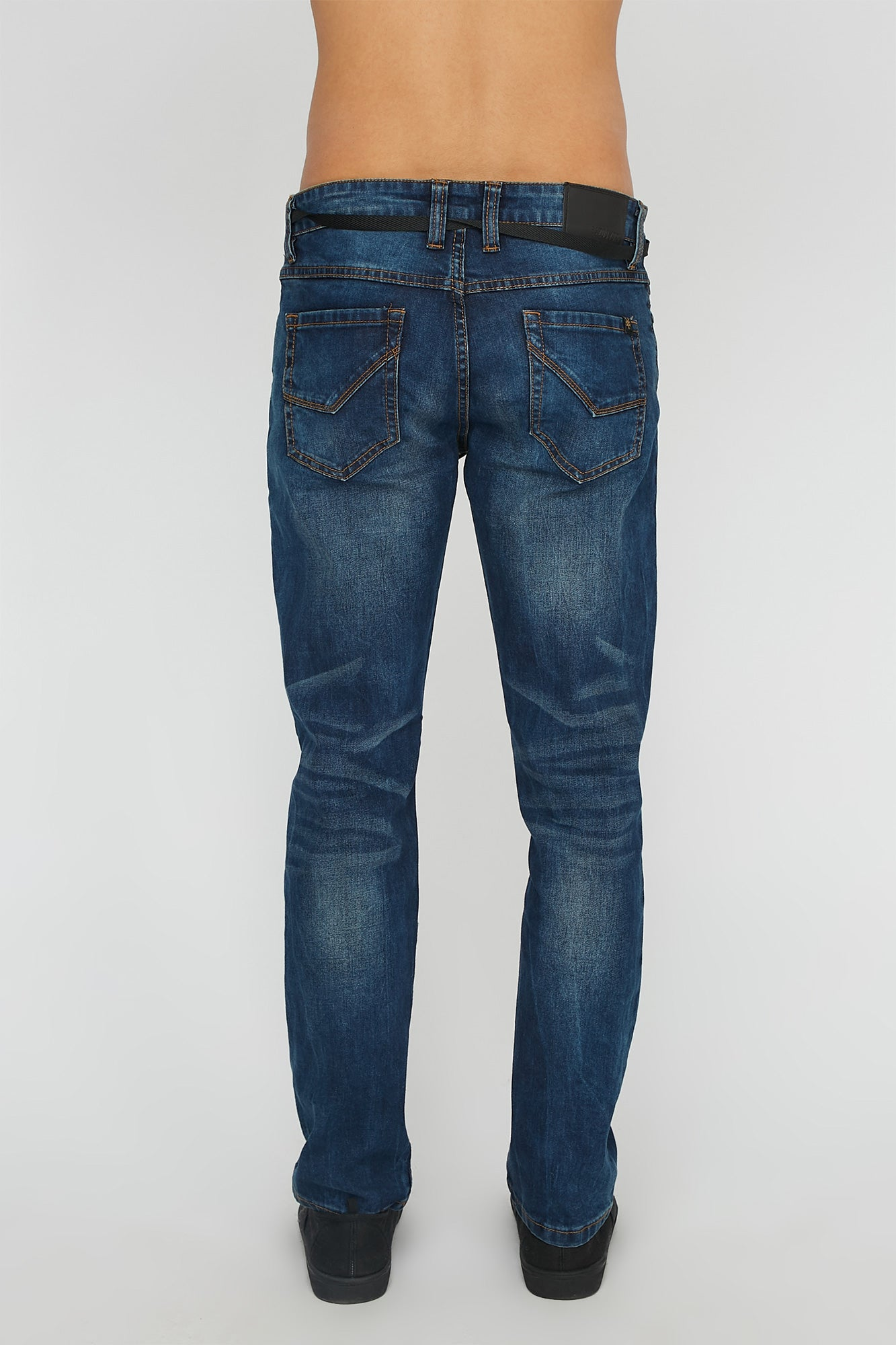 Zoo York Mens Dark Slim Jeans