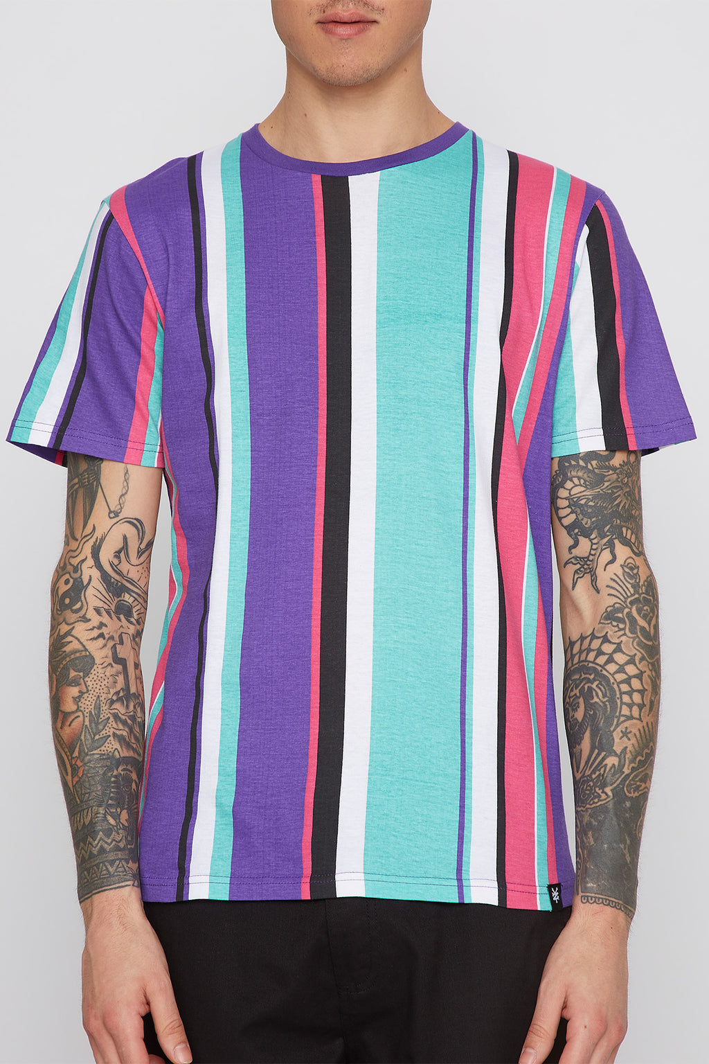 Zoo York Mens Striped T-Shirt