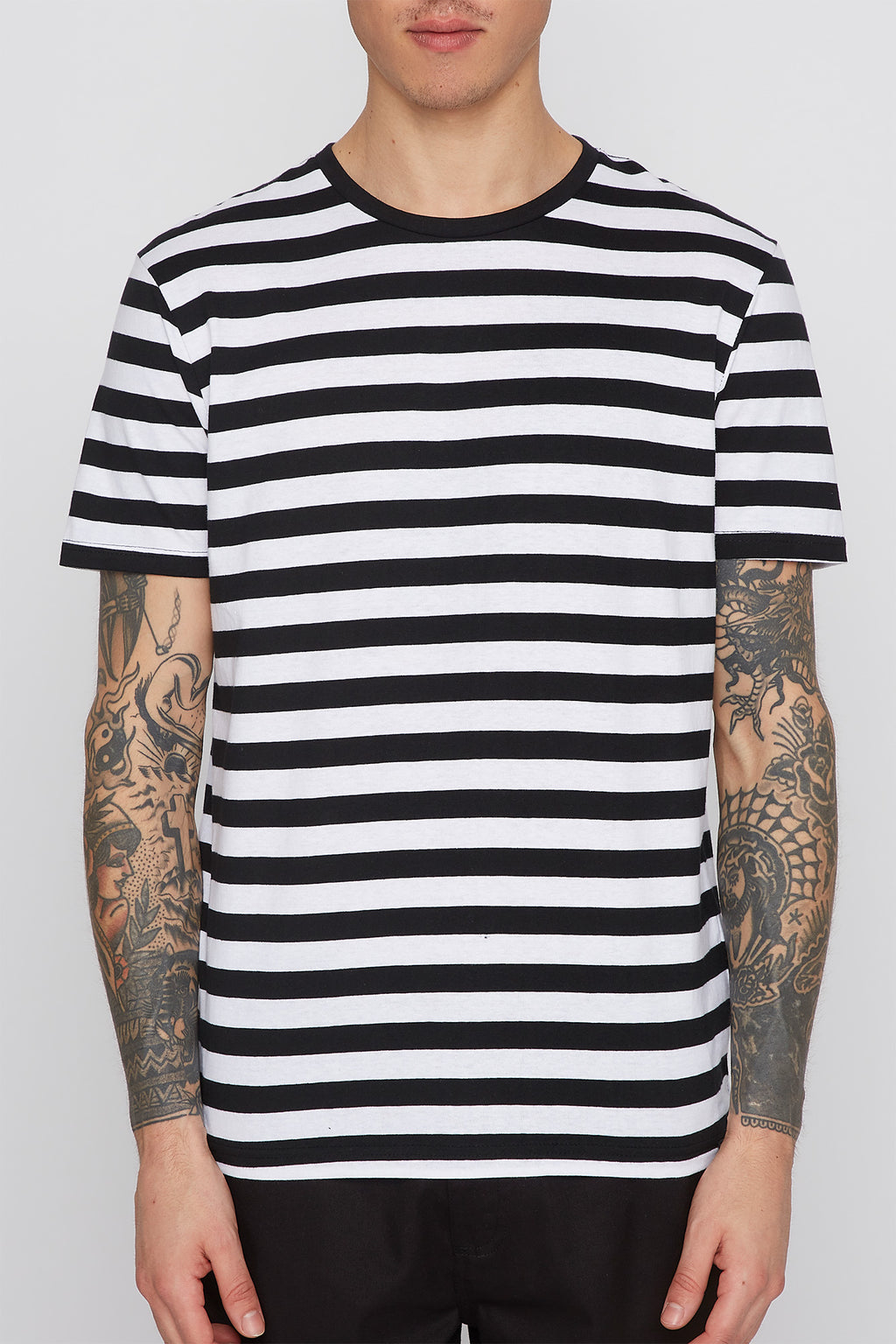 Mens Feeder Stripe T-Shirt