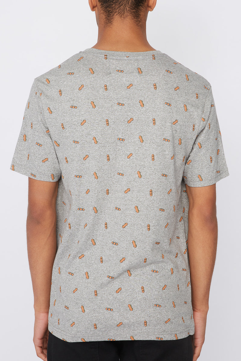 West49 Mens Ditsy Print Pocket T-Shirt