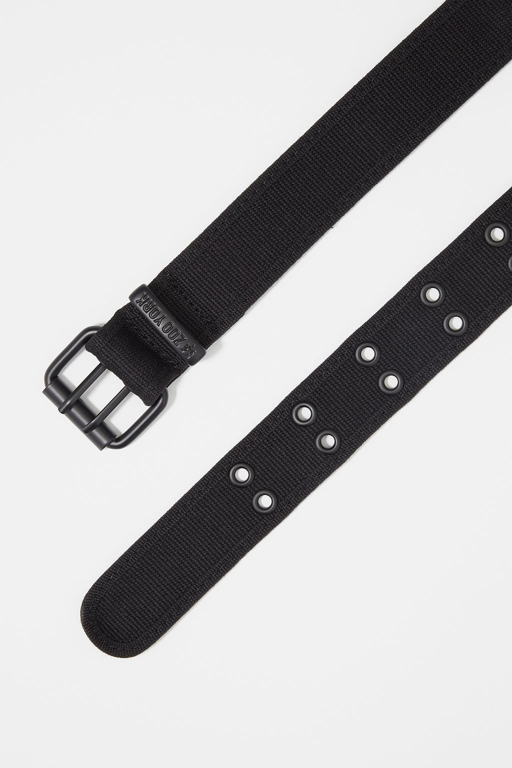 Zoo York Mens Basic Black Belt