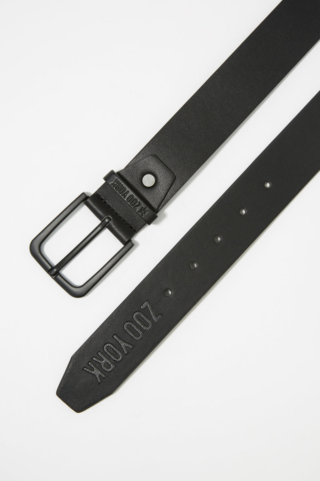 Zoo York Mens Classic Black Belt