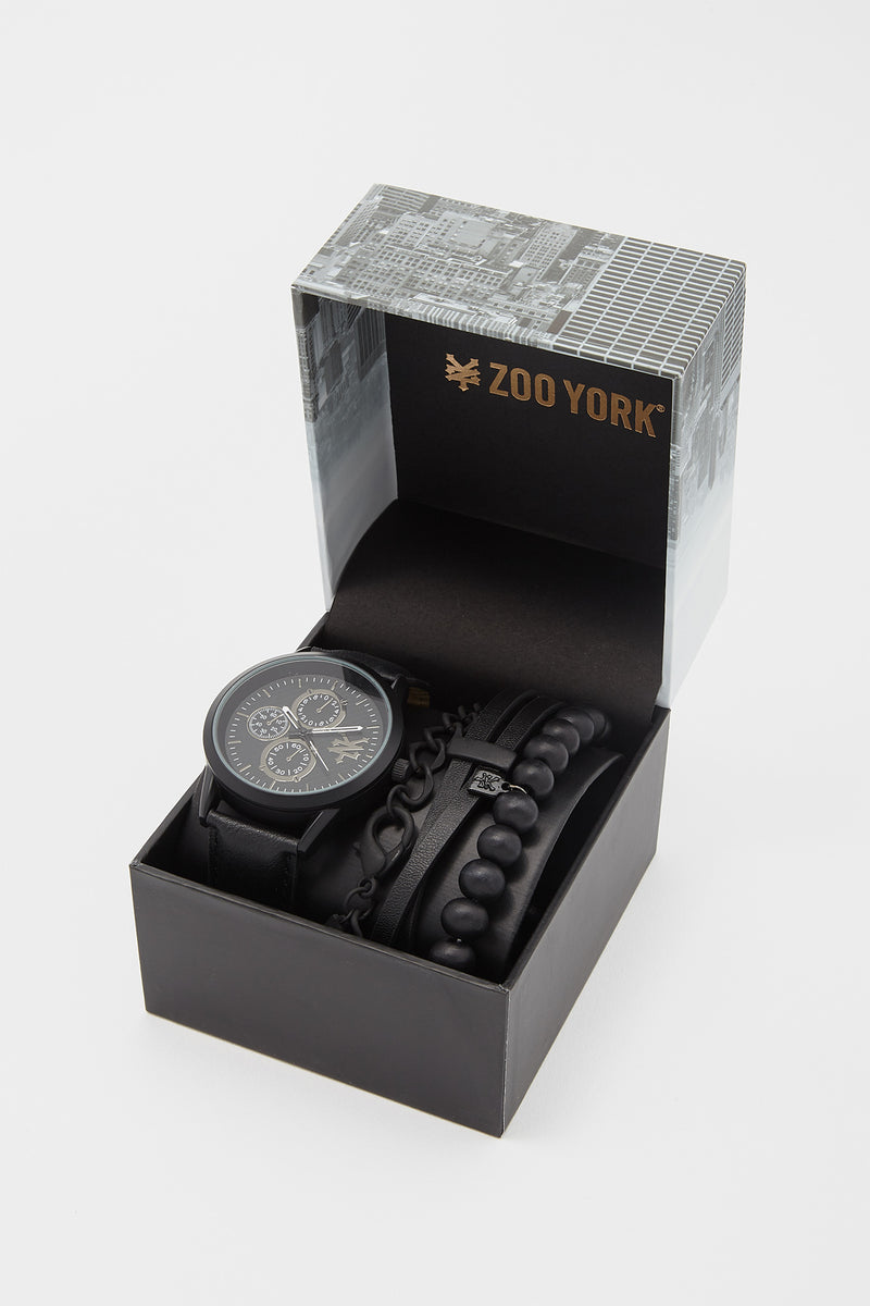 Zoo York Mens Gold-Tone Watch