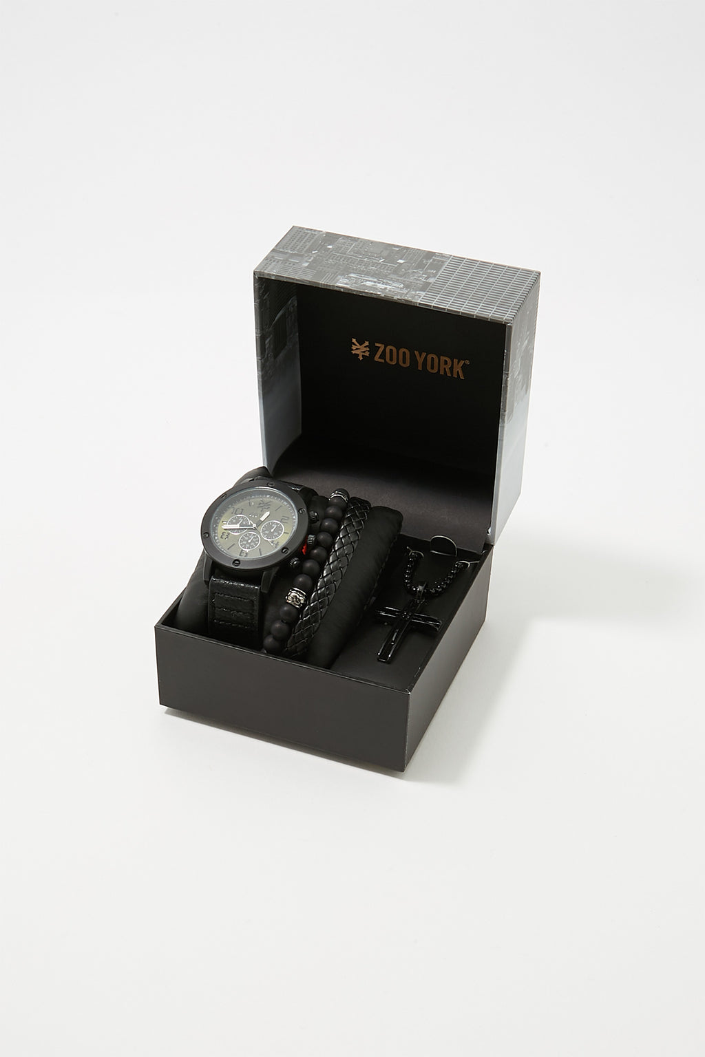 Zoo York Mens Matte Black Watch