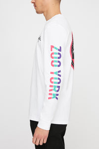 Zoo York Mens Circle Logo Long Sleeve