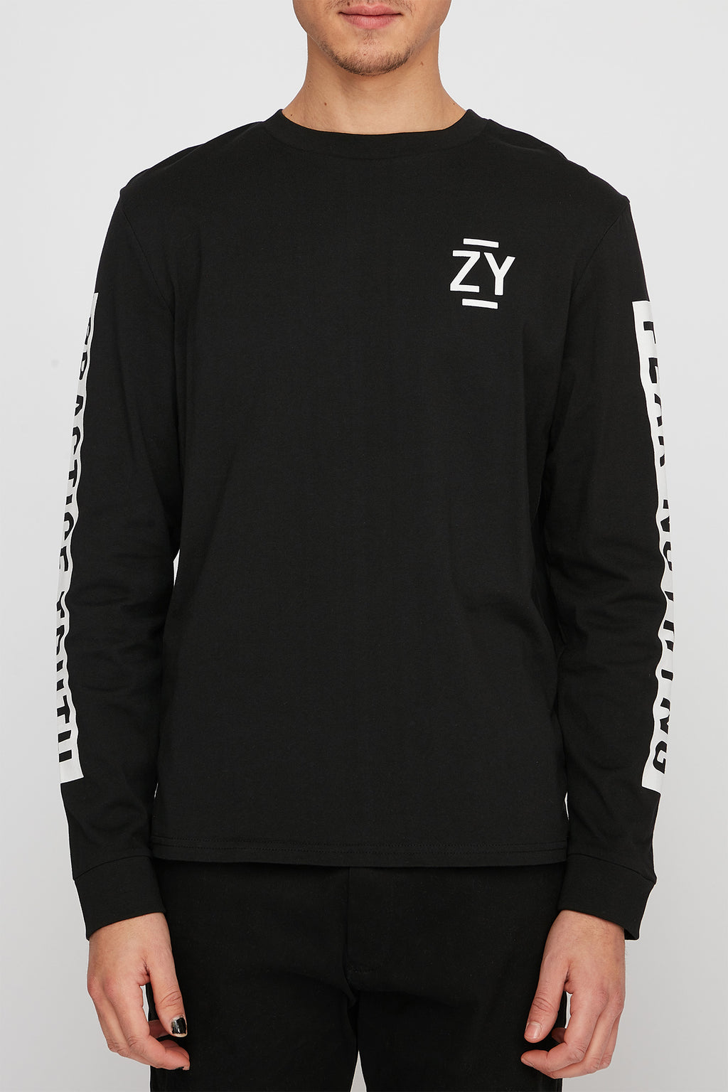 Zoo York Mens Circle Graphic Long Sleeve