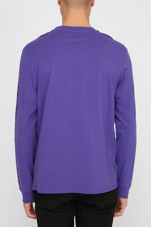 Zoo York Mens Bar Logo Long Sleeve