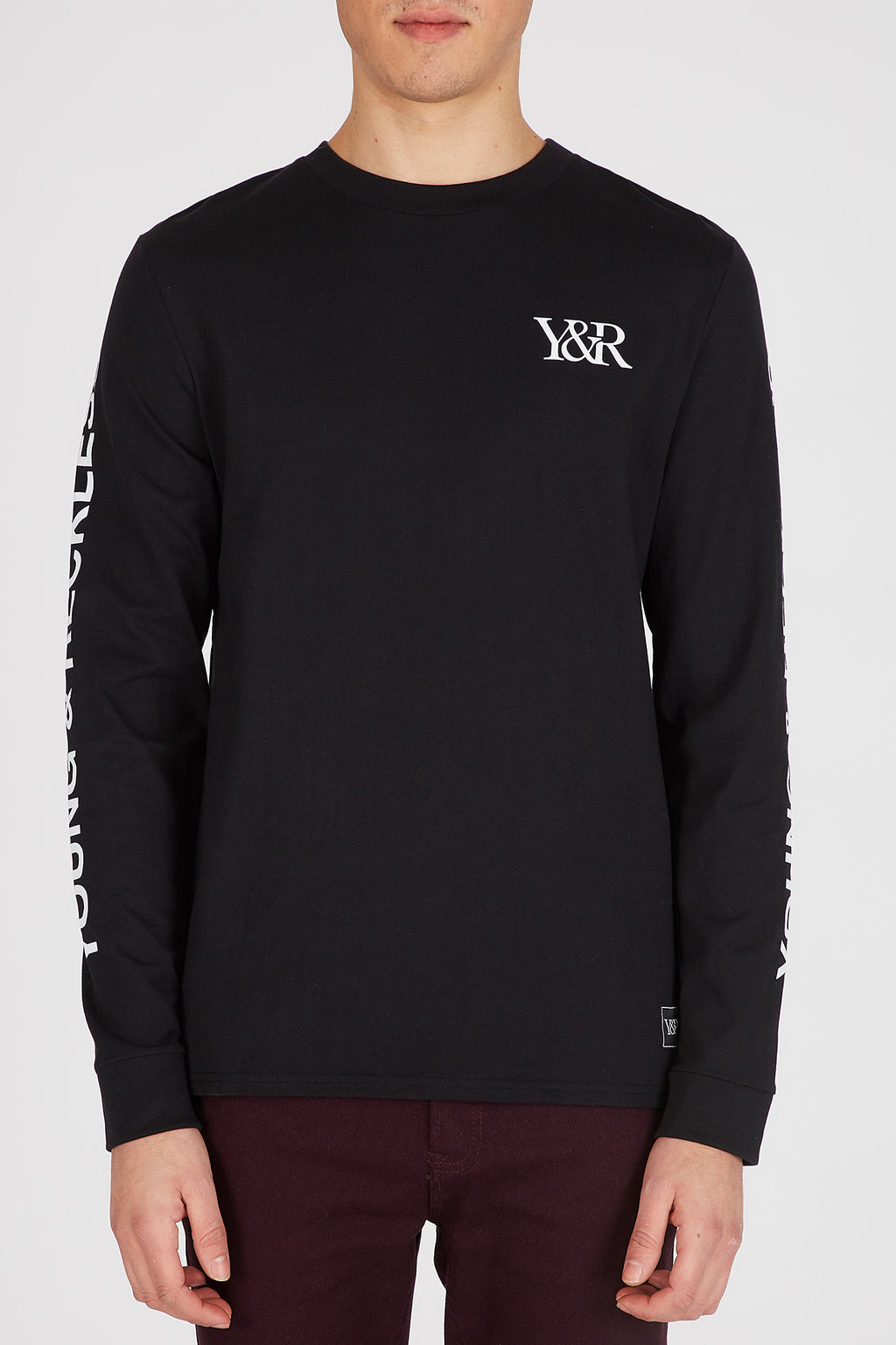 Young & Reckless Mens Circle Graphic Long Sleeve