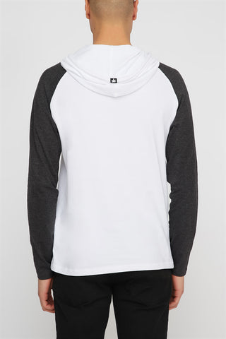 Zoo York Mens Hooded Long Sleeve