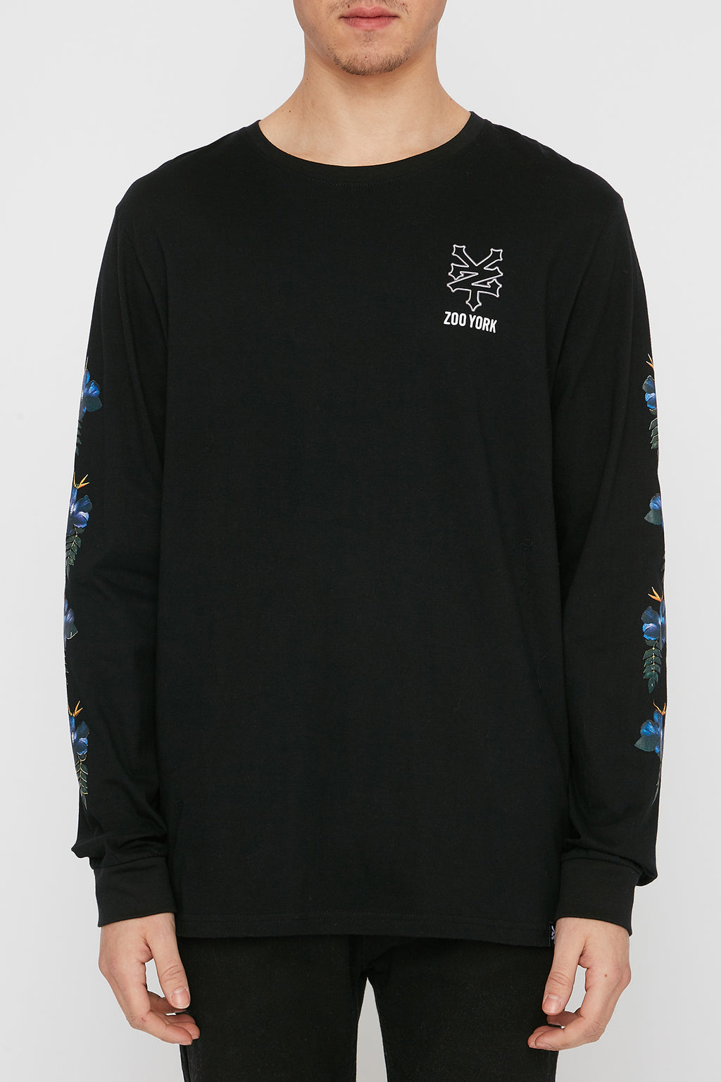 Zoo York Mens Floral Long Sleeve