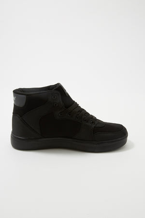 Akademiks Mens Canvas High Top Shoes