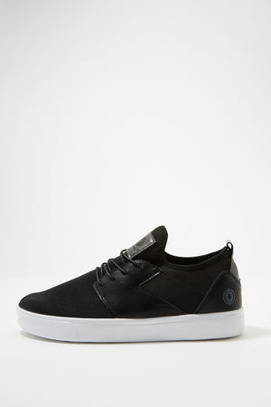 Akademiks Mens Canvas Leather Shoes