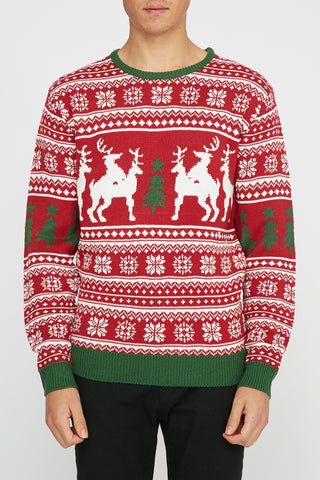 West49 Reindeer Squad Sweater