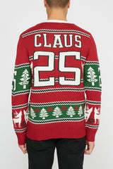 West49 Varsity Santa Ugly Christmas Sweater