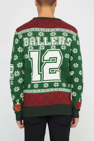 West49 Varsity Ballers Ugly Christmas Sweater