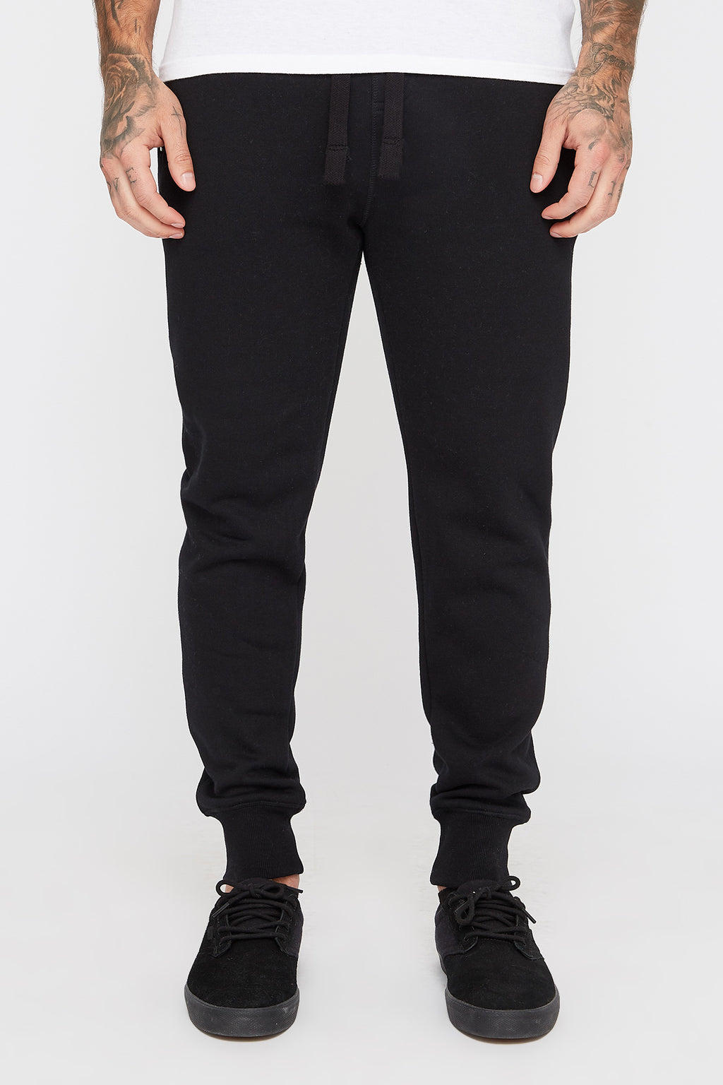 West49 Mens Solid Zip-Up Jogger