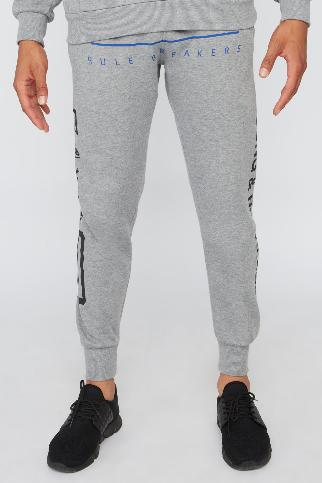 Young & Reckless Mens Solid Racing Jogger
