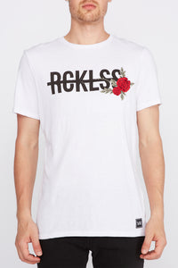 Young & Reckless Mens Rose Logo T-Shirt