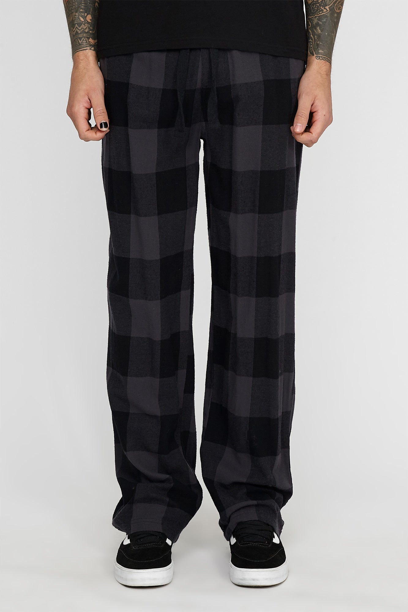 West49 Mens Plaid Pyjama Pants