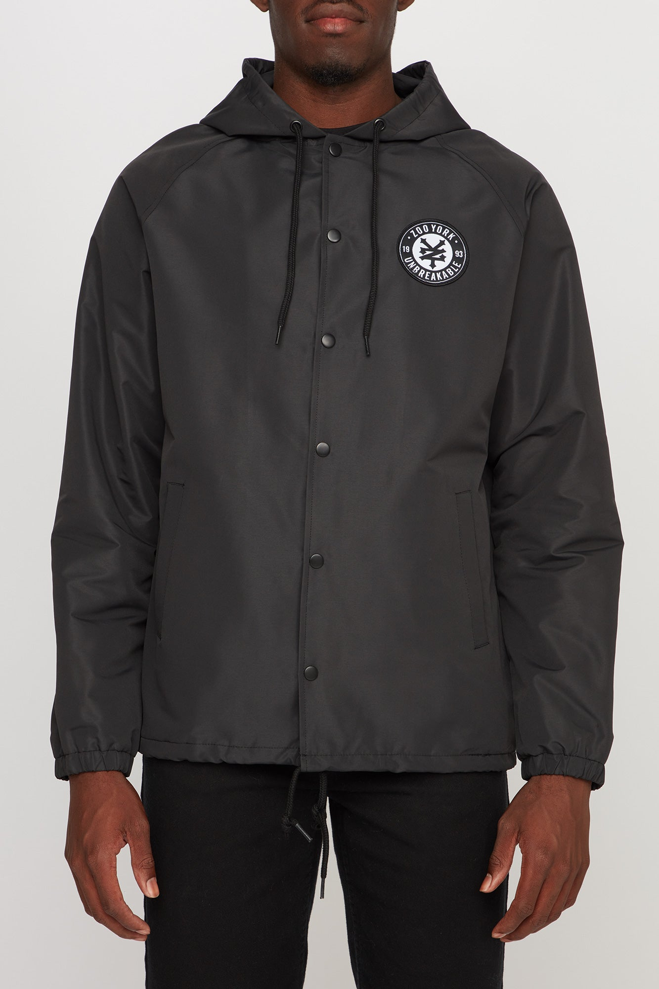 Zoo York Men's Hooded Coaches Jacket