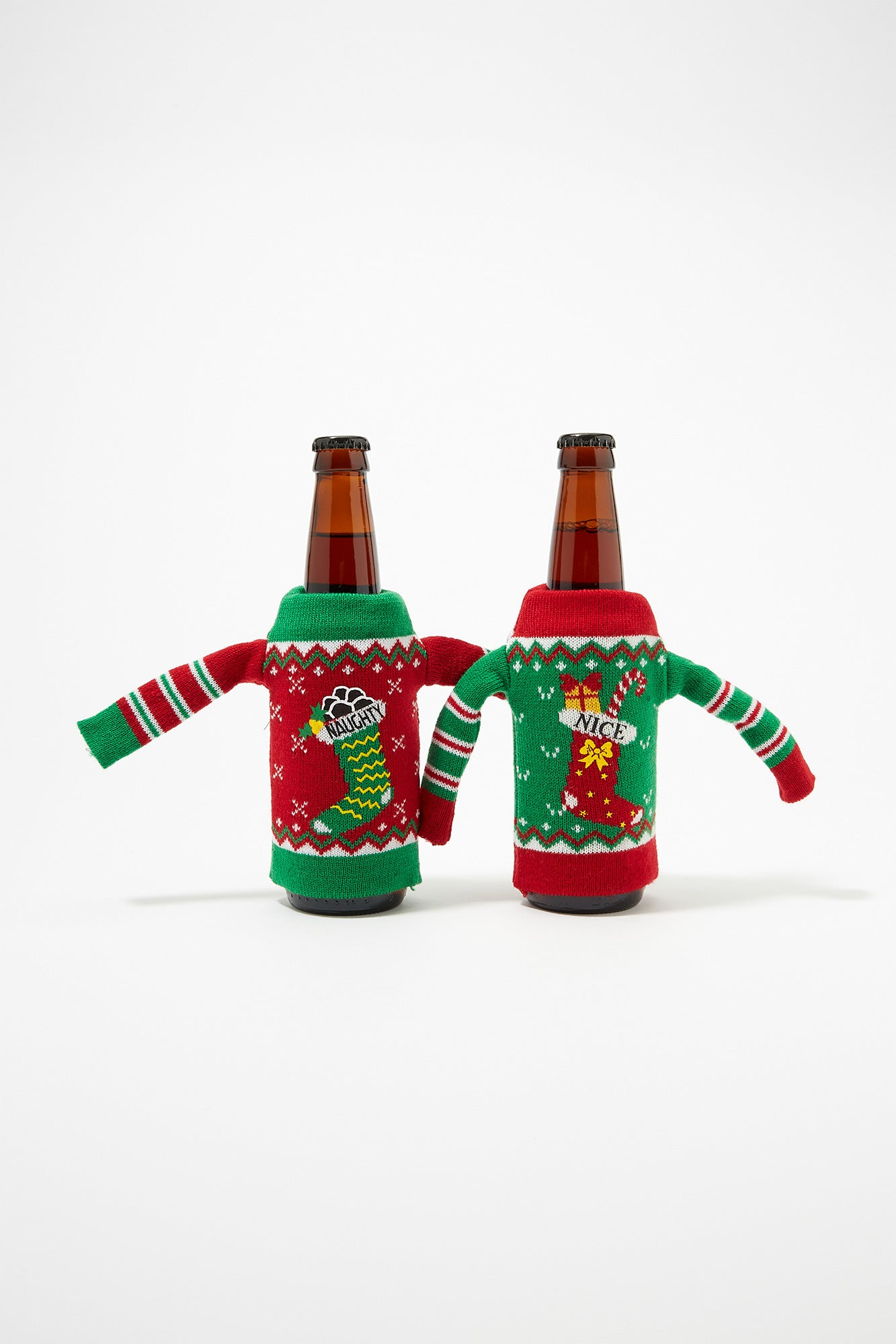 Beer Bottle Christmas Kozie