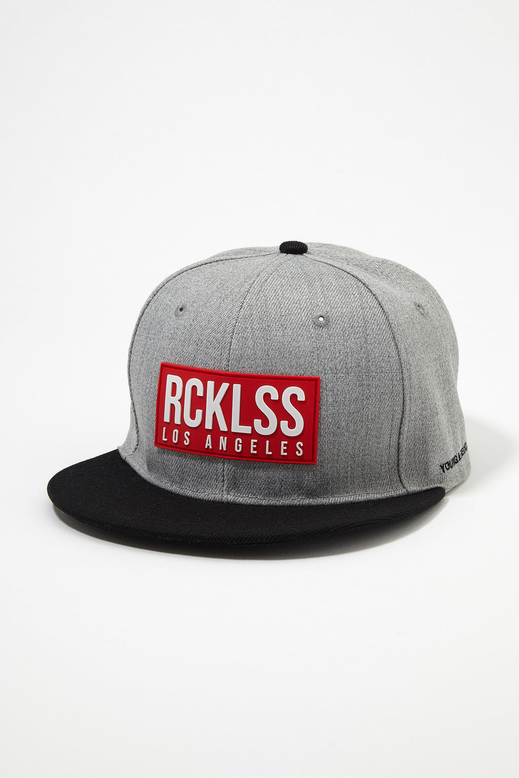 Young & Reckless Mens Red Box Logo Snapback