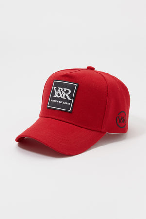 Young & Reckless Mens Rubber Logo Hat