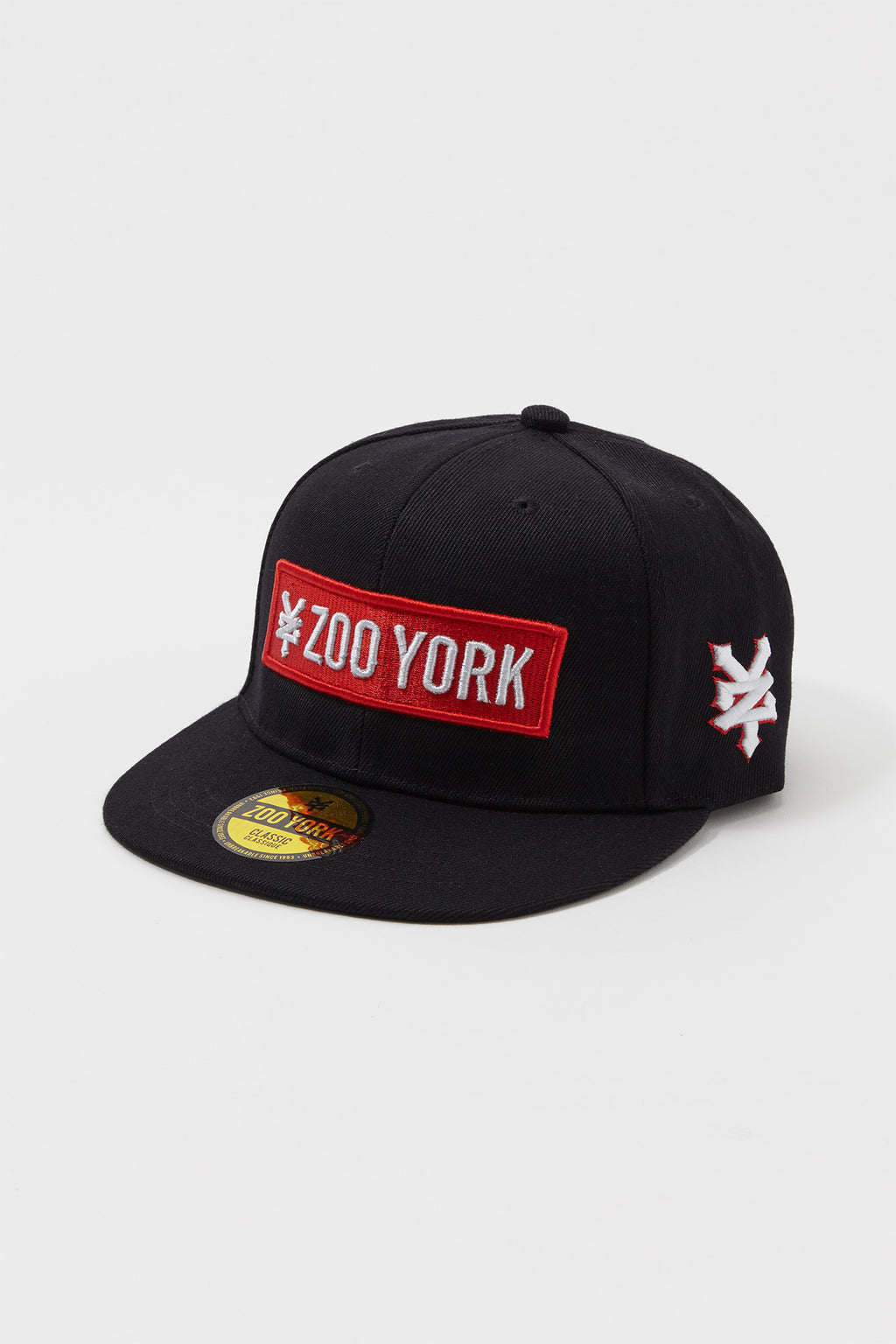 Zoo York Boys Red Box Logo Patch Hat