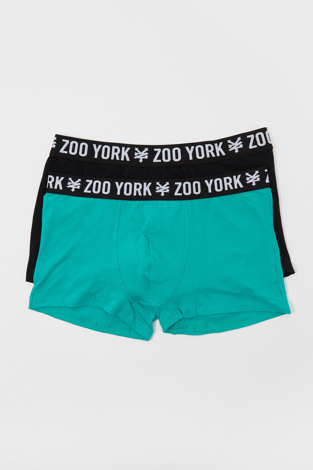 Zoo York Mens 2-Pack Cotton Boxer Brief