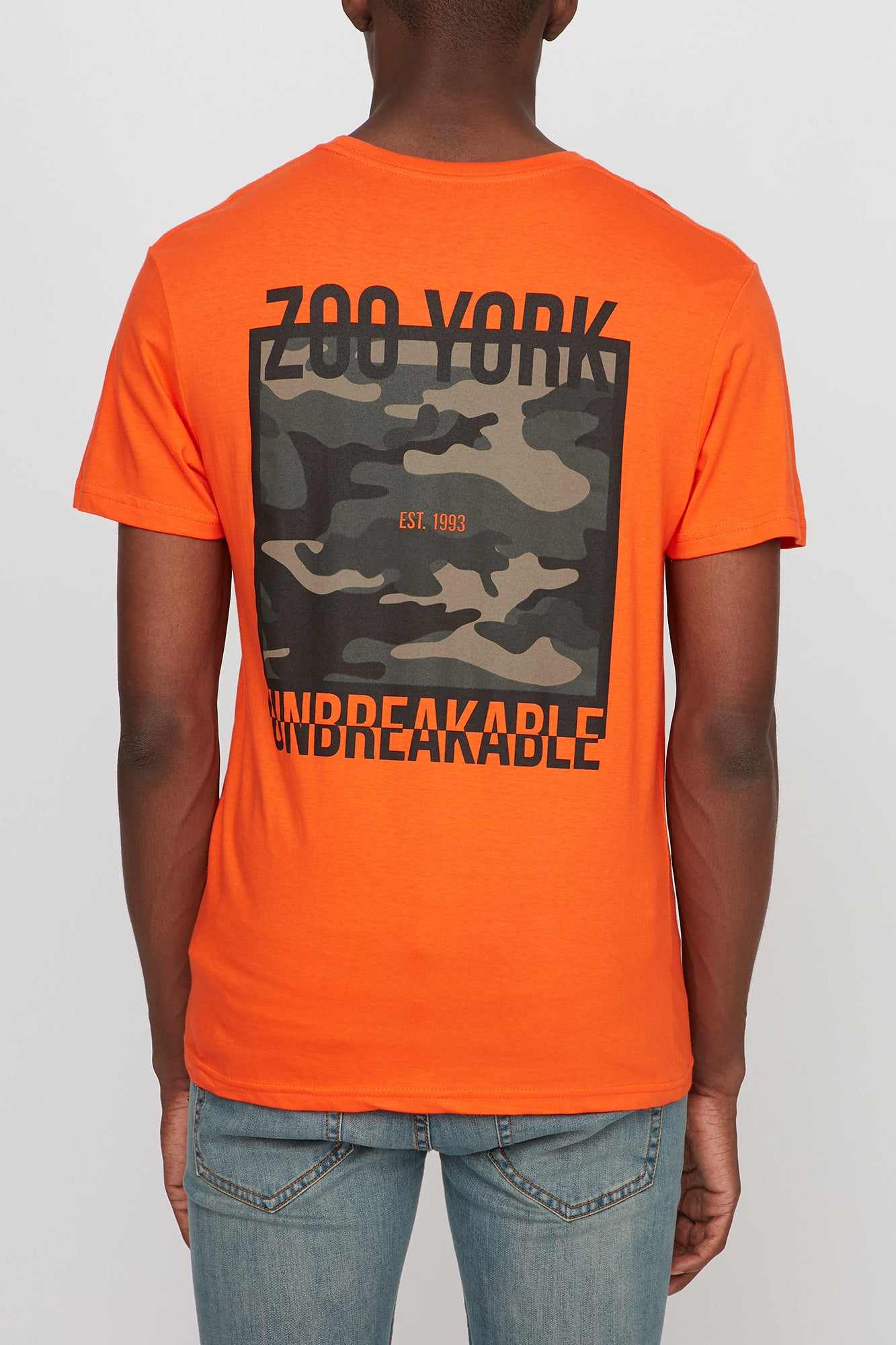 Zoo York Mens Camo Square Tee