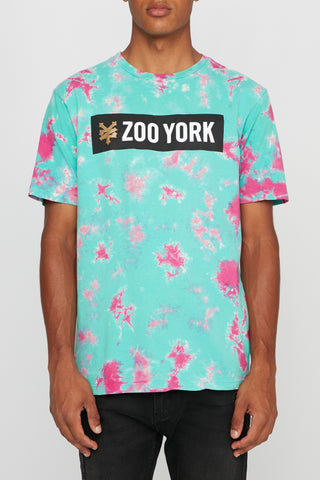 Zoo York Mens Rectangle Chest Print Tee