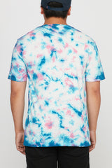 Zoo York Mens Circle Tie Dye Tee