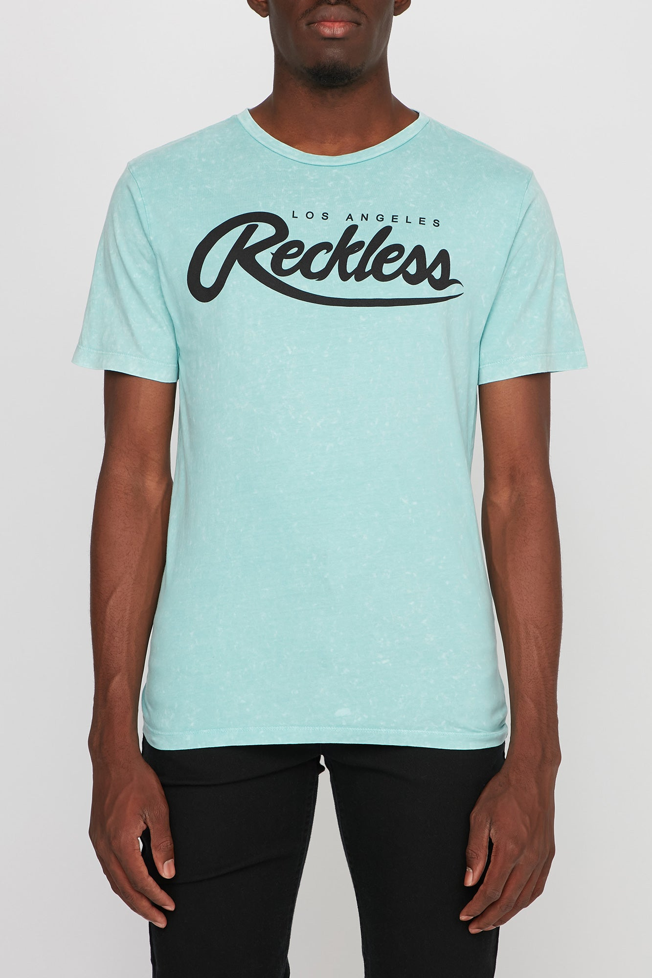 Young & Reckless Mens Mineral Wash Tee