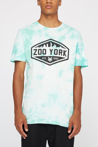 Zoo York Mens Skyline Logo Tee